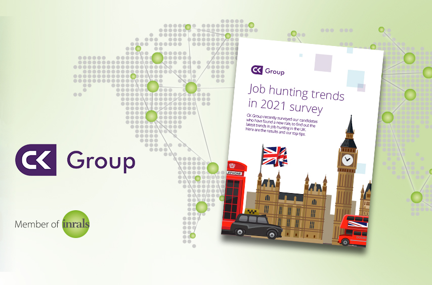 Job hunting trends in UK – June 2021