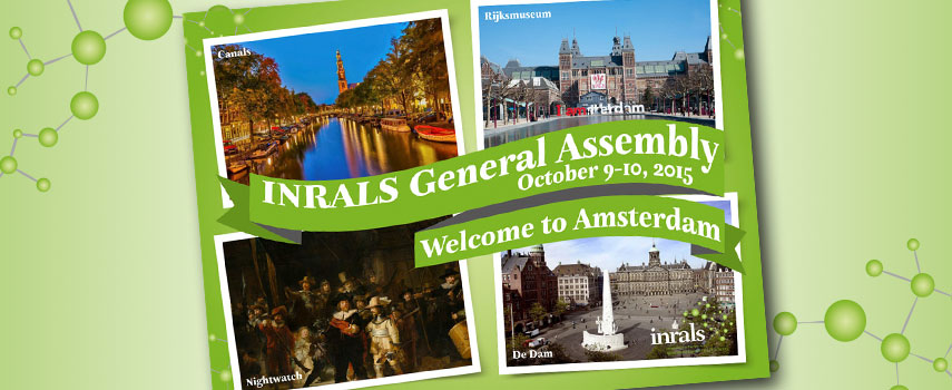 Amsterdam awaits the next  INRALS General Assembly