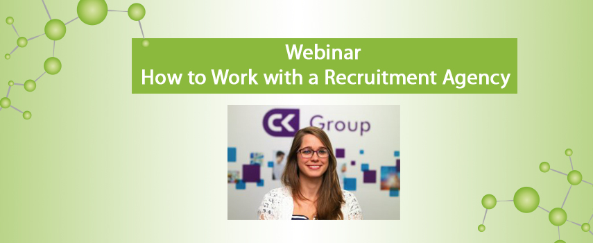 ChemCareers 2020: How to Work with a Recruitment Agency Webinar